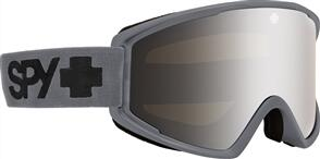 SPY OPTIC CRUSHER ELITE 20 - MATTE GRAY HD BRONZE W/ SILVER SPECTRA