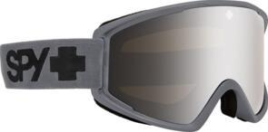 SPY OPTIC CRUSHER 21 - MATTE GRAY + BONUS LENS HD BRONZE W/ SILVER SPECTRA