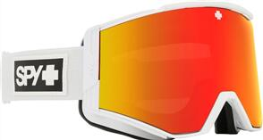 SPY OPTIC ACE 20 - MATTE WHITE HD PLUS BRONZE W/ RED MIRROR