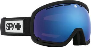 SPY OPTIC MARSHALL 21 - MATTE BLACK HD PLUS ROSE W/ DARK BLUE SPECTRA MIRROR + HD PLUS LL LIGHT GRAY GREEN W/ RED