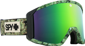 SPY OPTIC RAIDER 20 - KUSH HD BRONZE W/ GREEN SPECTRA MIRROR
