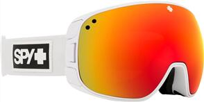 SPY OPTIC BRAVO 20 - MATTE WHITE HD PLUS BRONZE W/ RED SPECTRA MIRROR