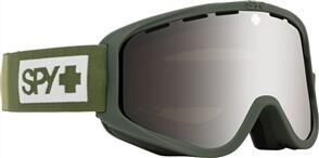SPY OPTIC WOOT 20 - COLORBLOCK OLIVE HD BRONZE W/ SILIVER MIRROR