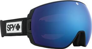 SPY OPTIC LEGACY 21 - MATTE BLACK HD PLUS ROSE W/ DARK BLUE SPECTRA MIRROR + HD PLUS LL LIGHT GRAY GREEN W/ RED