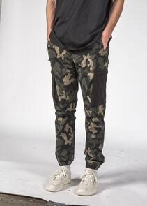 THING THING BANK TRACK PANT NIGHT CAMO