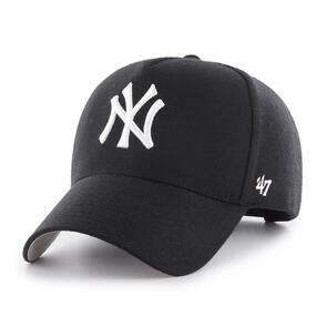 47 BRAND NEW YORK YANKEES BLACK/WHITE '47 MVP DT SNAPBACK