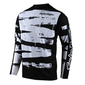 TROY LEE DESIGNS 2021 SPRINT JERSEY BRUSHED BLACK / WHITE