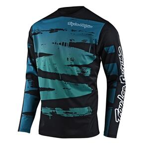 TROY LEE DESIGNS 2021 YOUTH SPRINT JERSEY BRUSHED MARINE / TEAL