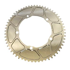 """ANDEL TRACK CHAINRING SOLID 60T 1/8"""" 144 SATIN"""