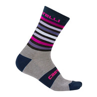 CASTELLI SOCK GREGGE 15 DARK BLUE/GRAY