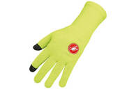 CASTELLI GLOVE PRIMA LONG FINGER YELLOW