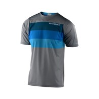 TROY LEE DESIGNS 2020 SKYLINE AIR SS JERSEY CONTINENTAL GRAY / BLUE