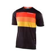TROY LEE DESIGNS 2020 SKYLINE AIR SS JERSEY CONTINENTAL BLACK / YELLOW