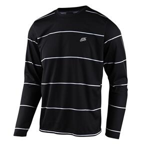 TROY LEE DESIGNS 2021 FLOWLINE LS JERSEY STACKED BLACK