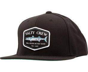 SALTY CREW SLIME STICK 6 PANEL BLACK