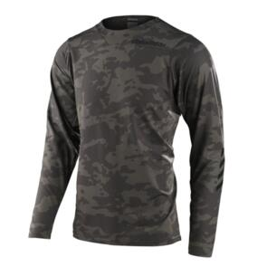 TROY LEE DESIGNS 2021 SKYLINE CHILL JERSEY CAMO GREEN