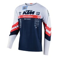 TROY LEE DESIGNS 2020 SE ULTRA JERSEY FACTORY TEAM WHITE / NAVY
