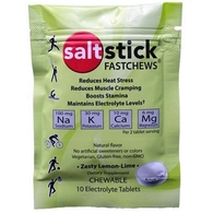 SALTSTICK FASTCHEWS LEMON/LIME 1 BOX OF PACKS(10 CHEWS)
