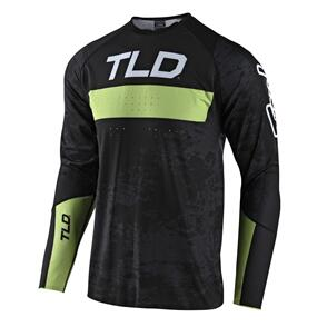 TROY LEE DESIGNS 2021 SPRINT ULTRA JERSEY GRIME BLACK / GLO GREEN