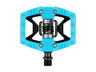 CRANK BROTHERS CRANKBROTHERS PEDAL DOUBLE SHOT 2 LIGHT BLUE/BLACK