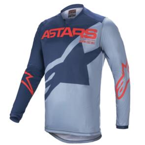 ALPINESTARS 2021 RACER BRAAP JERSEY DARK BLUE/POWDER BLUE/BRIGHT RED