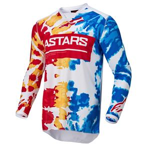 ALPINESTARS 2022 RACER SQUAD JERSEY WHITE/RED/YELLOW/TURQUOISE/BLACK