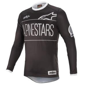 ALPINESTARS RACER DIALED 21 JERSEY BLACK/WHITE
