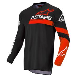 ALPINESTARS 2022 YOUTH RACER CHASER JERSEY BLACK/BRIGHT RED