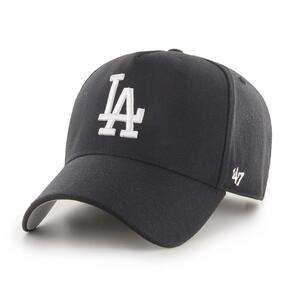 47 BRAND LOS ANGELES DODGERS BLACK/WHITE '47 MVP DT SNAPBACK