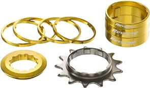 REVERSE COMPONENTS SINGLE SPEED KIT 13T REVERSE COMPONENTS GOLD