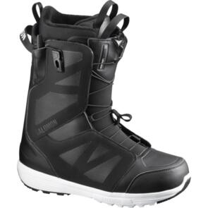 SALOMON 2020 LAUNCH BOOTS BLACK/BLACK/WHITE