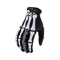 TROY LEE DESIGNS 2020 YOUTH AIR GLOVE SKULLY BLACK / WHITE