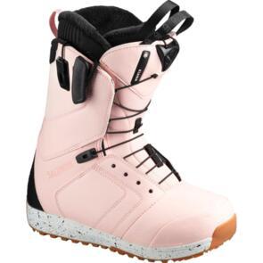 SALOMON 2020 WOMENS KIANA BOOTS VEILED ROSE/BLACK/DIJON