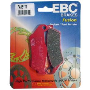 EBC FA181TT CARBON TT BRAKE PADS [RED] NS
