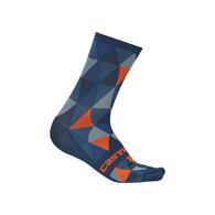 CASTELLI SOCK FAUSTO MULTI COLOUR BLUE