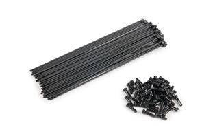 ECLAT PG SPOKES 180MM BLACK (40) PC