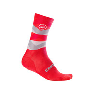 CASTELLI SOCK FATTO RED