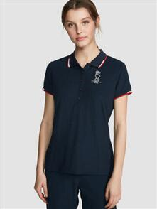 NORTH SAILS WOMENS POLO S/S NAVY