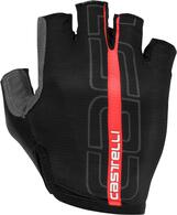 CASTELLI GLOVE TEMPO BLACK/RED