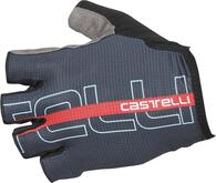 CASTELLI GLOVE TEMPO DARK INFINITY BLUE/RED