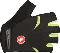 CASTELLI GLOVE ARENBERG SHORT FINGER BLACK/FLURO YELLOW