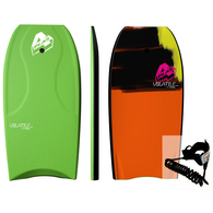 4PLAY 2020 VOLATILE  - THERMO BODYBOARD LIME 40""""