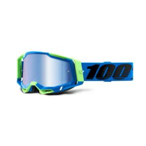 100% RACECRAFT 2 GOGGLE FREEMONT - MIRROR BLUE LENS