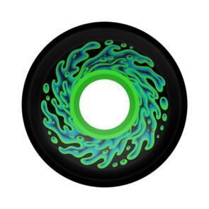 SLIME BALLS 60MM OG SLIME BLACK GREEN 78A