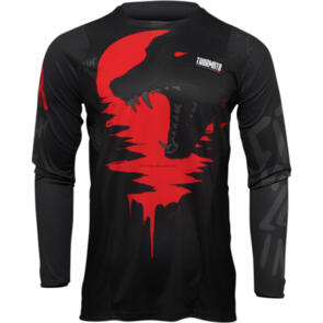 THOR 2022 JERSEY PULSE COUNTING SHEEP BLACK/RED