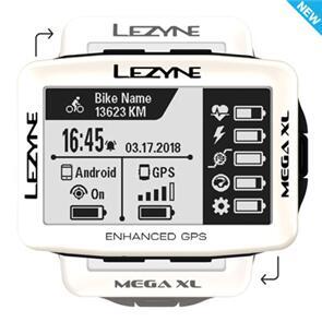 LEZYNE MEGA GPS - PEARL WHITE