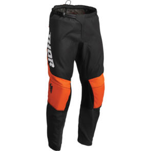 THOR 2022 SECTOR CHEVRON PANT CHARCOAL/RED ORANGE