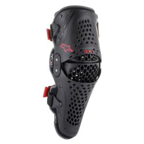 ALPINESTARS 2021 SX-1 V2 KNEE GUARD BLACK/RED