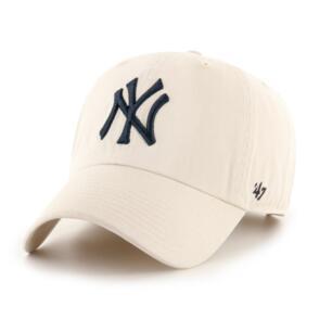 47 BRAND NEW YORK YANKEES 47 CLEAN UP W/ NO LOOP LABEL - BONE/NAVY