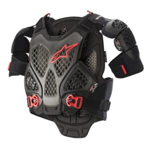 ALPINESTARS A-6 CHEST PROTECTOR BLACK RED